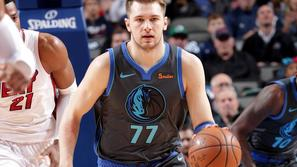 Luka Dončić Mavericks Heat
