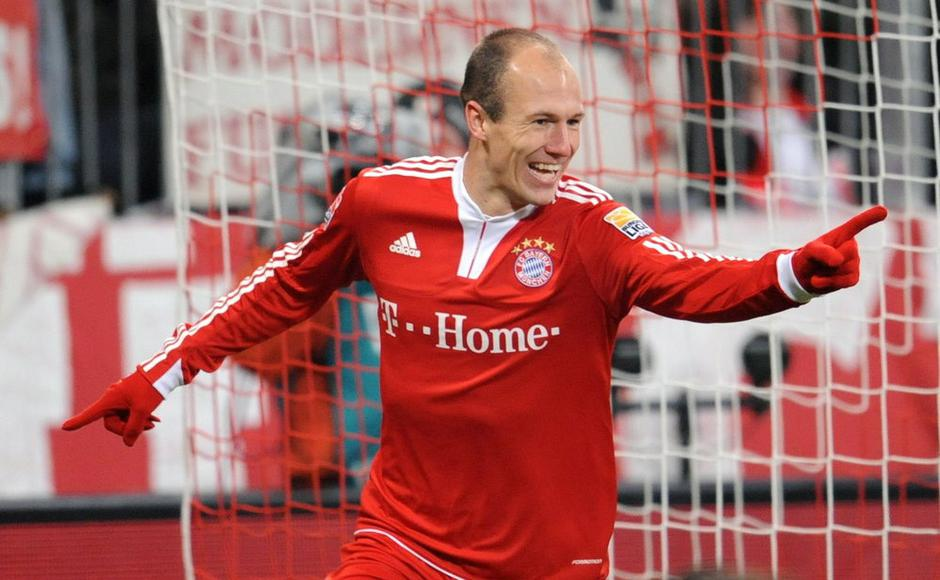 Sport 16.02.10, arjen robben, bayern, foto: epa   (ATTENTION: EMBARGO CONDITIONS | Avtor: epa   (ATTENTION: EMBARGO CONDITIONS! The DFL permits further utilisation of pic