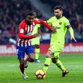 Atletico Barcelona Lemar Messi