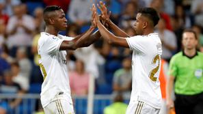 Vinícius Júnior Rodrygo Goes Real Madrid