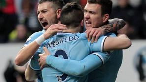 Negredo Kolarov Džeko Newcastle United Manchester City Premier League Anglija li