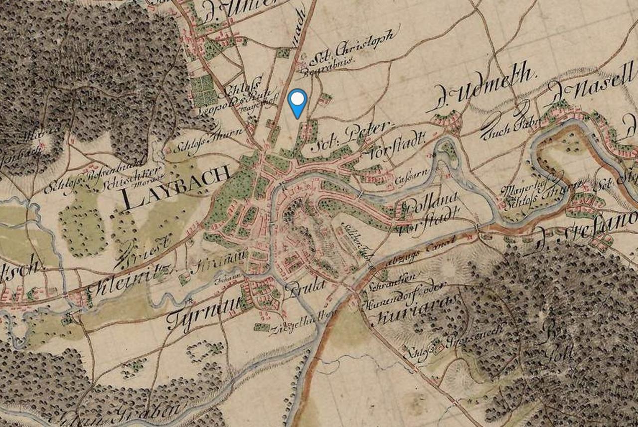 Poiscite Vas Kraj Na Starem Vojaskem Zemljevidu Zurnal24