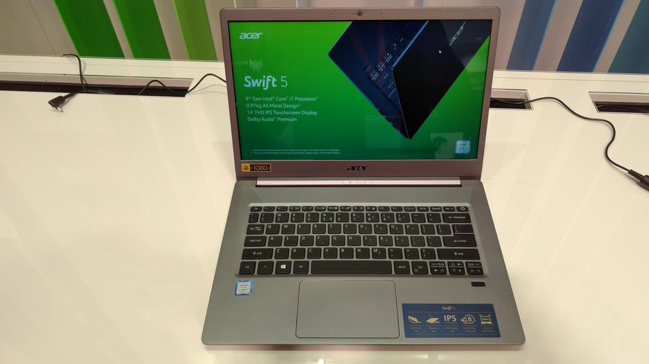 Acer Swift 5, sejem IFA 2018 v Berlinu | Avtor: J. Z.