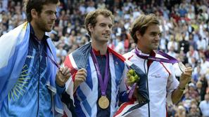 federer del potro murray london 2012