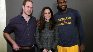 LeBron James Kate William