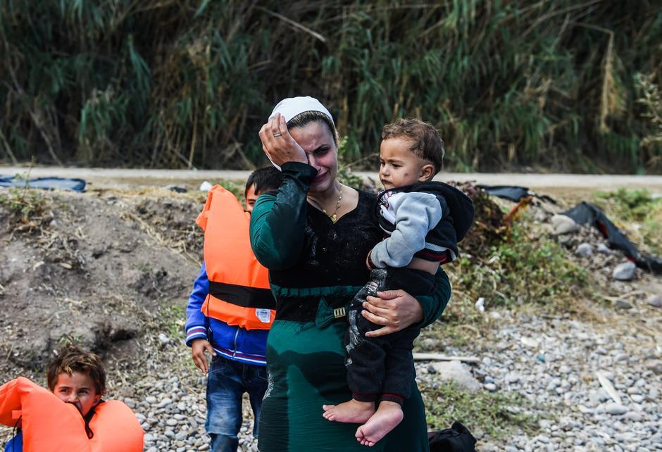 Lesbos, refugees | Author: EPA