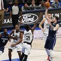 Luka Dončić Mavericks Clippers