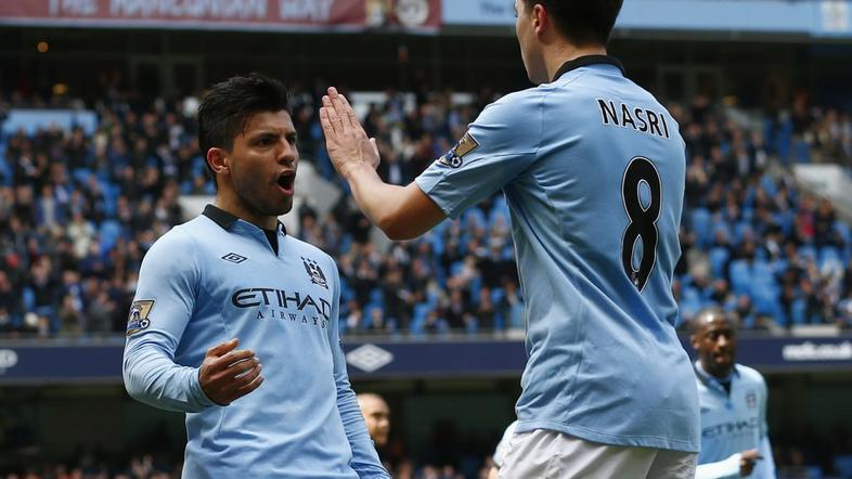 manchester city west ham agüero nasri