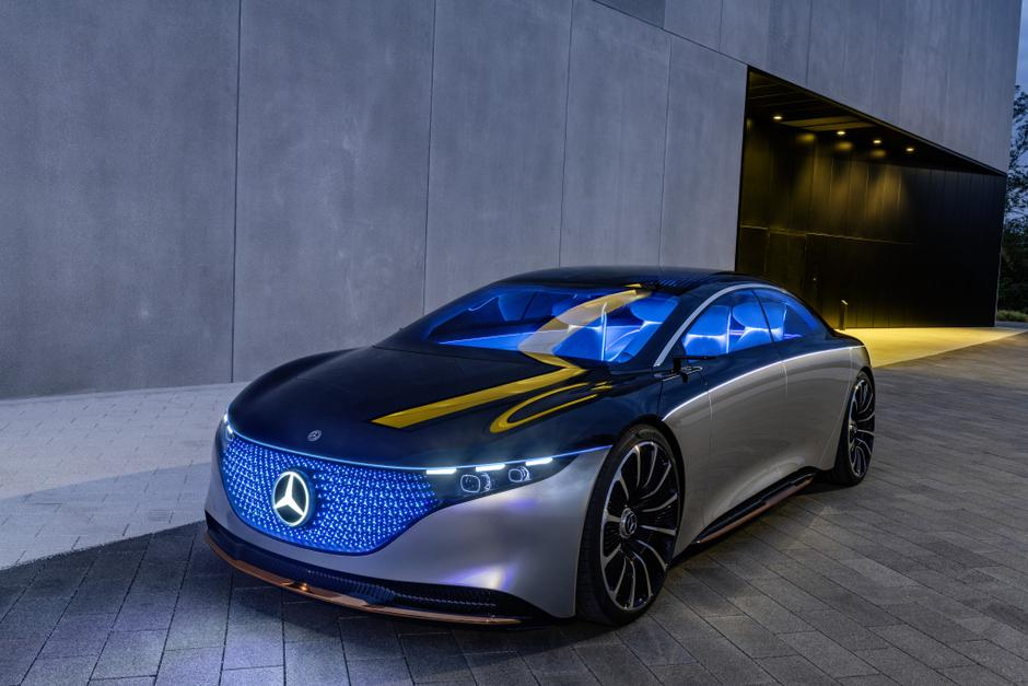 Mercedes-Benz EQS koncept | Avtor: Mercedes-Benz