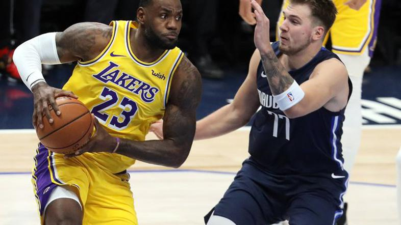 LeBron James, Luka Dončić
