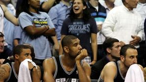George Hill, Tim Duncan, Tony Parker