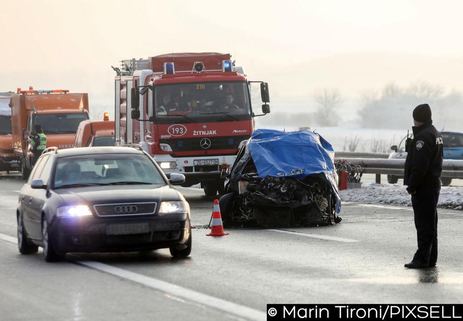 Nesreča na hrvaški avtocesti | Avtor: Marin Tironi/PIXSELL