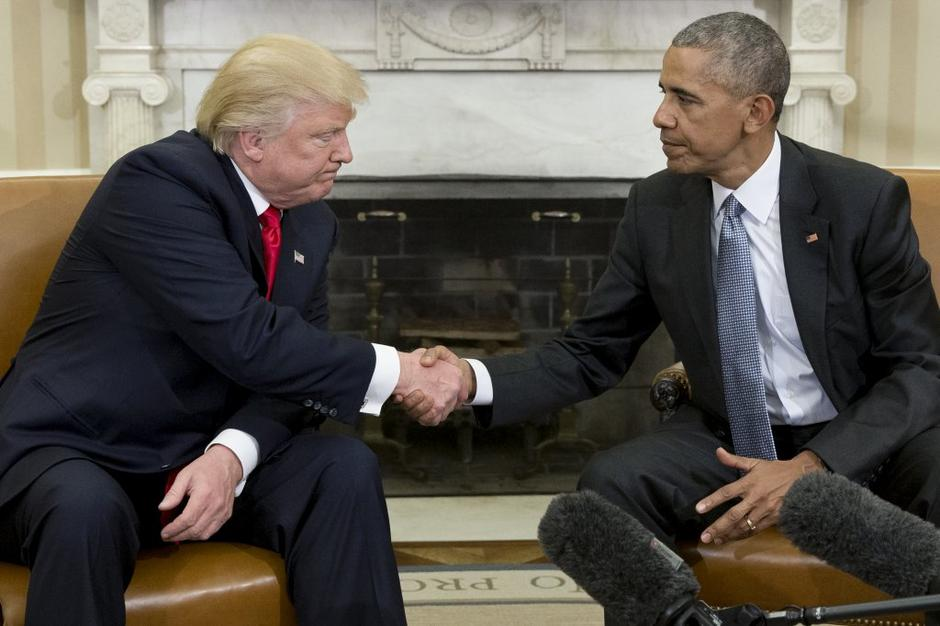 Donald Trump in Barack Obama | Avtor: EPA
