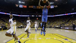 Kevin Durant Oklahoma City Thunder Golden State Warriors