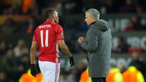 anthony martial jose mourinho