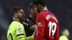 Leo Messi Diego Costa