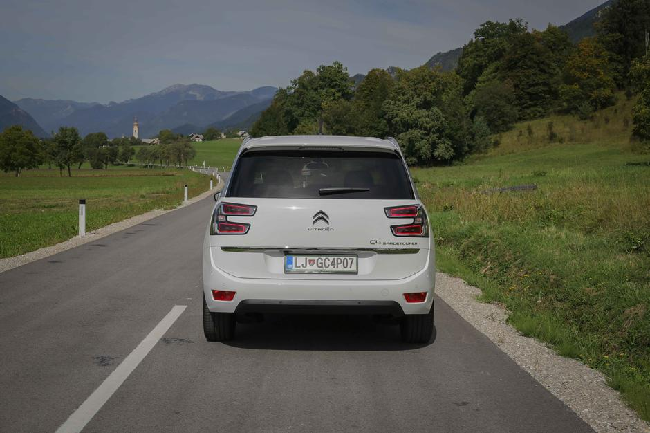 Citroën grand C4 spacetourer | Avtor: Saša Despot