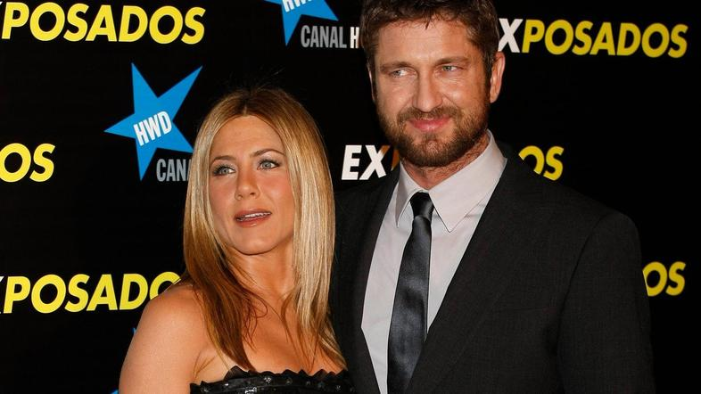 gerard butler, jennifer aniston