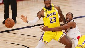 LeBron James Kawhi Leonard Lakers Clippers