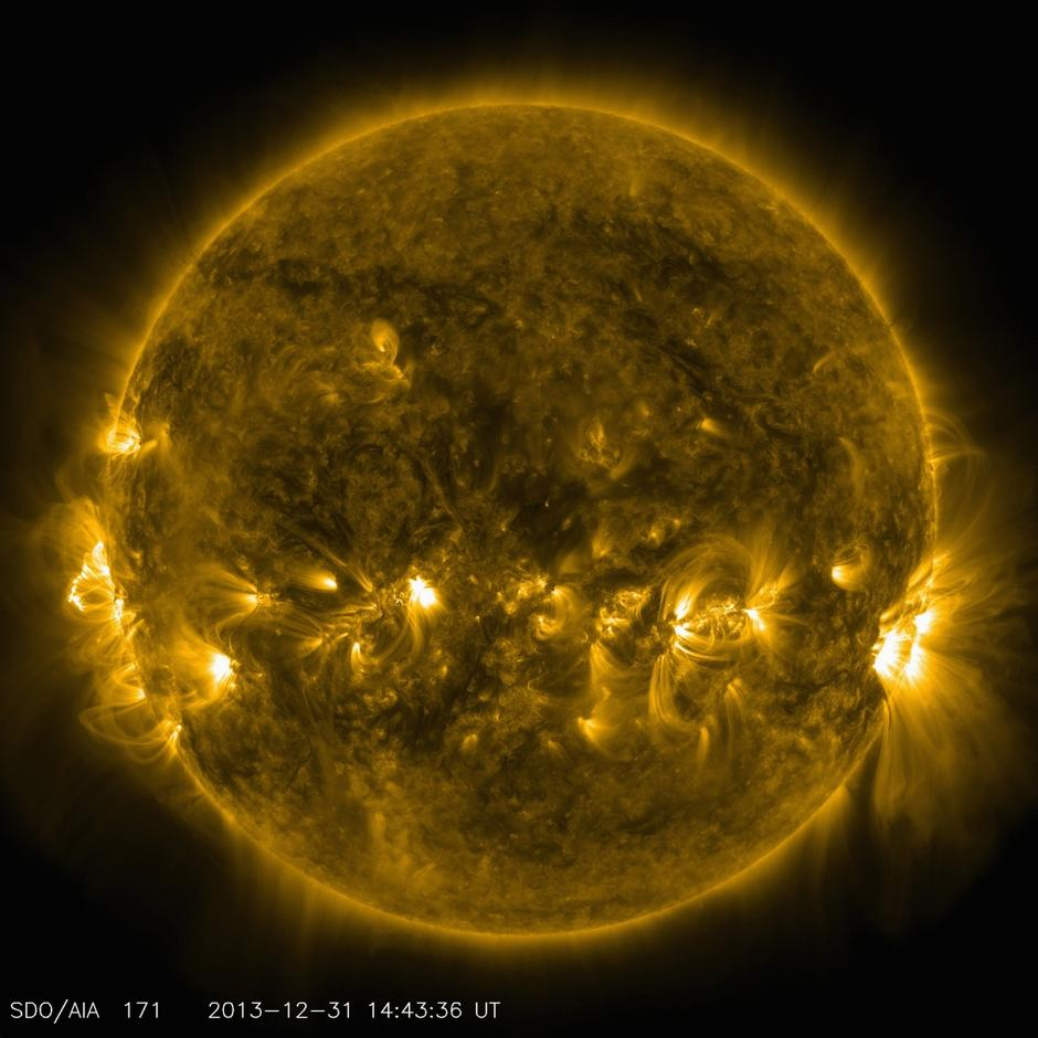 razno 05.01.14. sonce, The current conditions of the quiet corona and upper tran | Avtor: razno 05.01.14. sonce, The current conditions of the quiet corona and upper tran