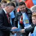 Van Gaal Manchester City Manchester United