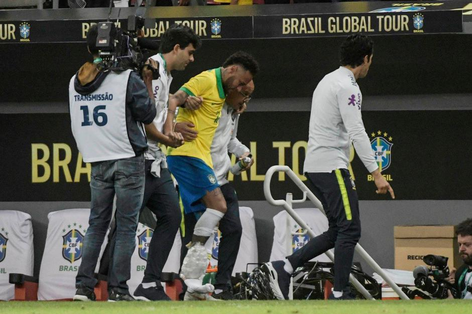 Neymar Brazilija poškodba | Avtor: True value paint