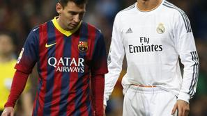 real madrid barcelona ronaldo messi