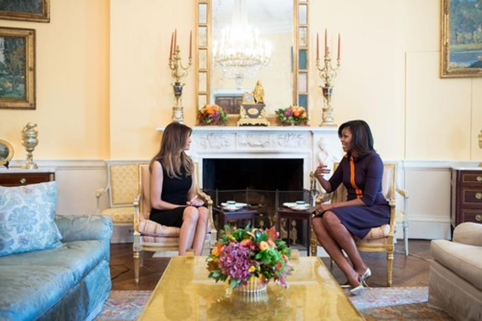 Melania Trump in Michelle Obama | Avtor: Profimedias