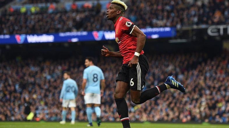 Paul Pogba Manchester City Manchester United