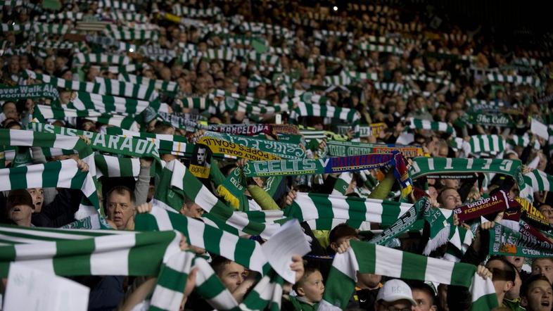 Celtic Park Glasgow Celtic navijači