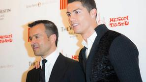Christiano Ronaldo in Jorge Mendes