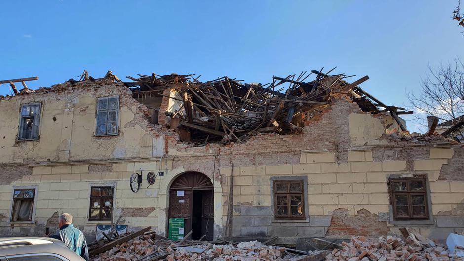 Petrinja potres | Avtor: 24sata