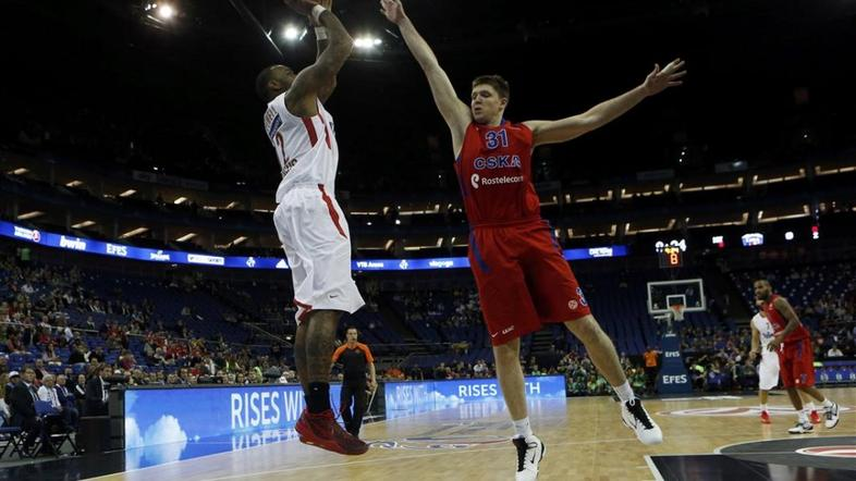 Powell Hrjapa CSKA Moskva Olympiakos Olympiacos Evroliga Final 4 four London O2
