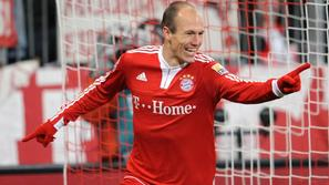 Sport 16.02.10, arjen robben, bayern, foto: epa   (ATTENTION: EMBARGO CONDITIONS