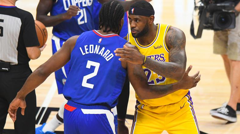 Kawhi Leonard LeBron James Clippers Lakers