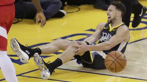 Klay Thompson Golden State Warriors Toronto Raptors