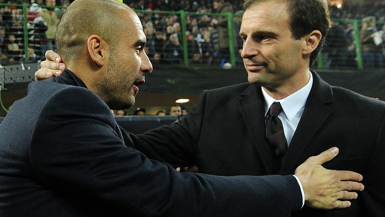 guardiola allegri
