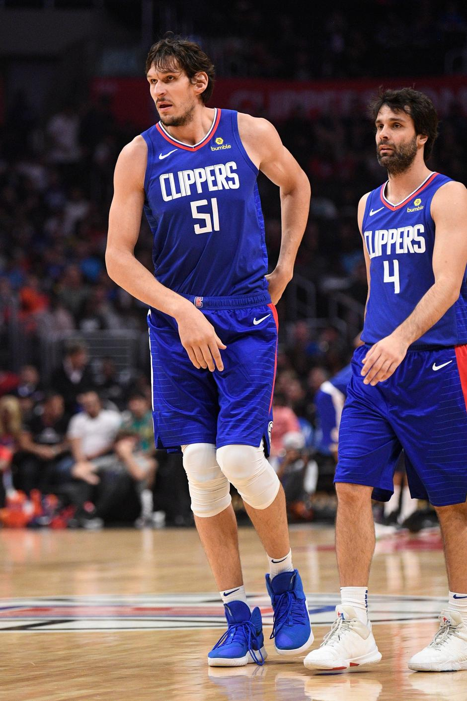 Boban Marjanovic and Milos Teodosic Author: Profimedia