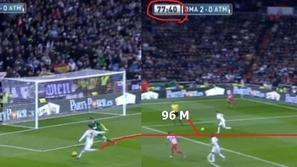 Ronaldo Real Atletico Madrid sprint šprint tek