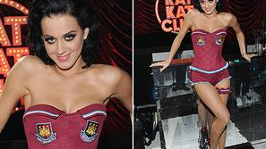 Katy Perry West Ham United