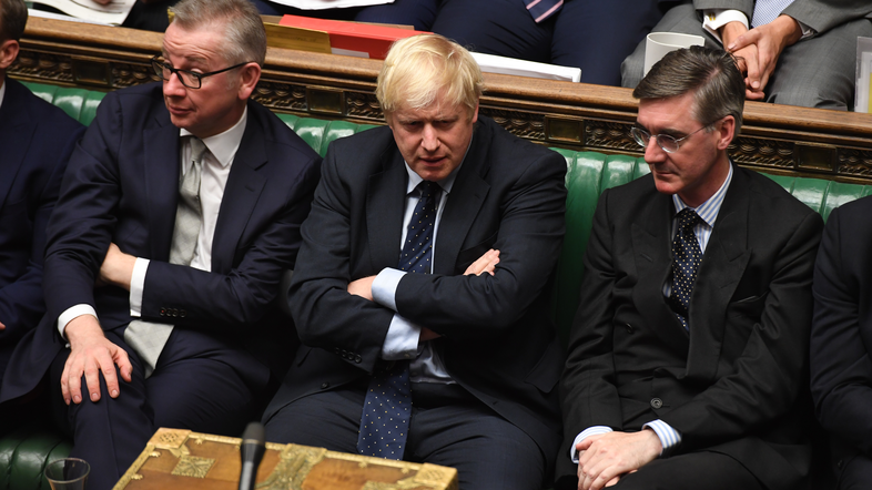 britanski parlament Boris Johnson