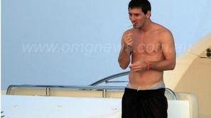 Lionel Messi cigareta