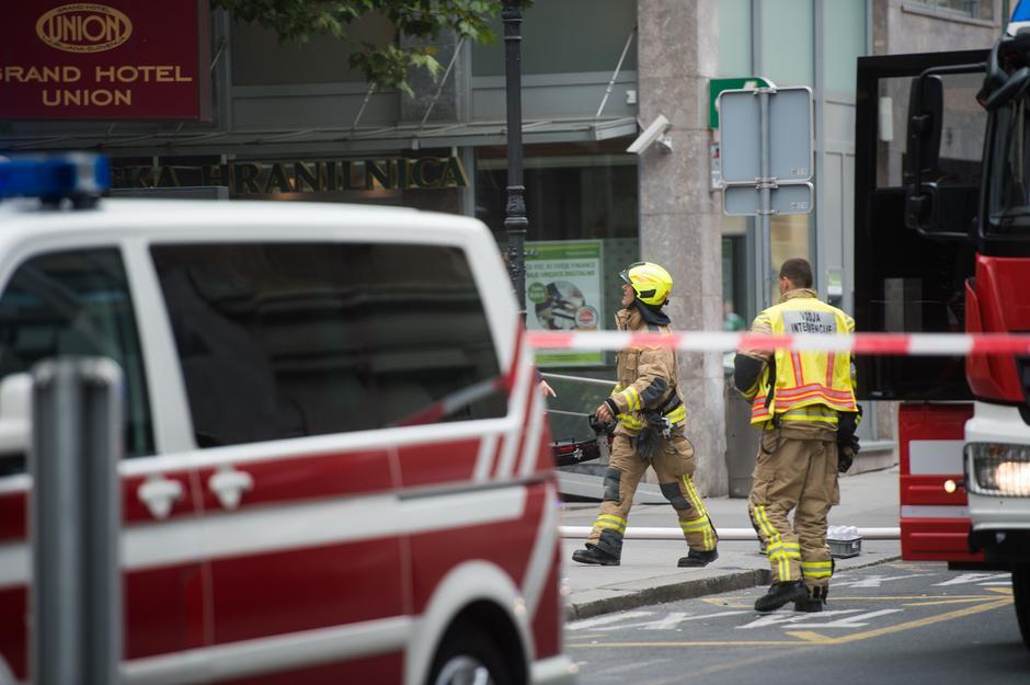 požar v Hotelu Union Ljubljana | Avtor: Anže Petkovšek