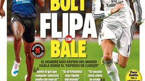 Bolt Bale Real Madrid Barcelona sprinter Copa del Rey finale