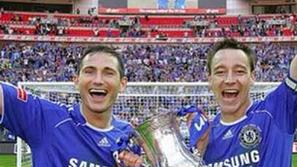 Terry Lampard Instagram FA pokal Chelsea Wembley