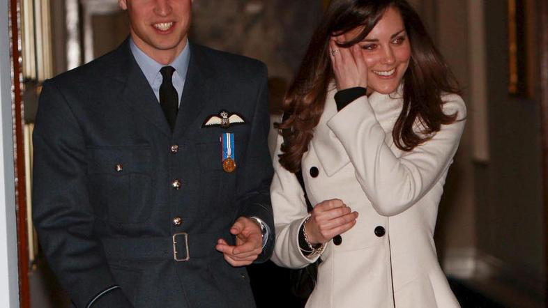 Kate in William sta že devet let par. (Foto: EPA)