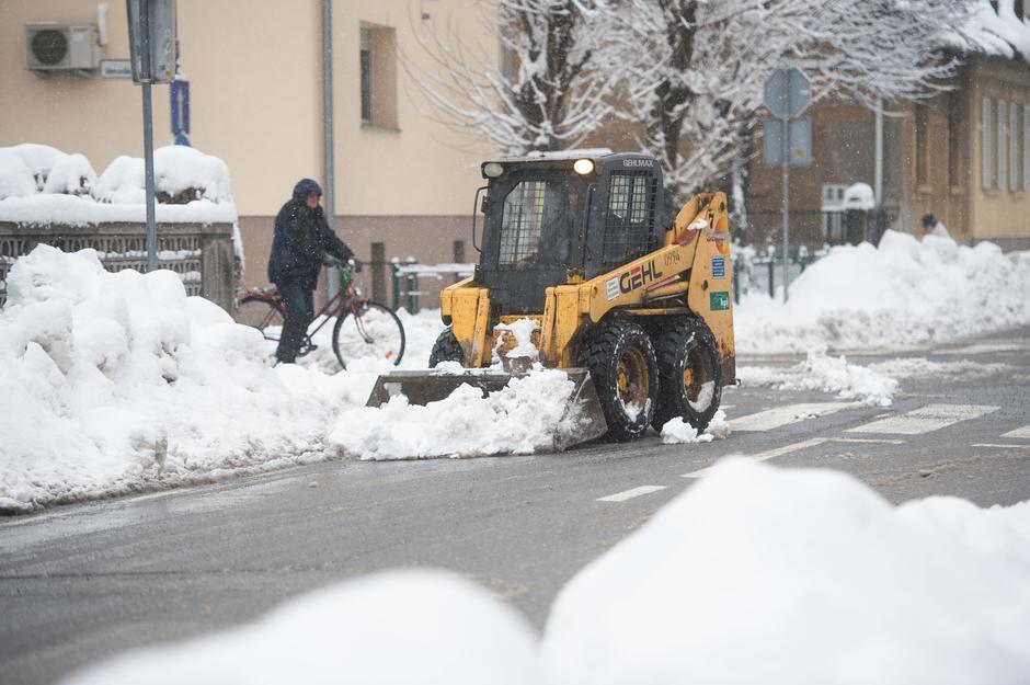 Snowy Ljubljana. | Author: Anze Petrovich