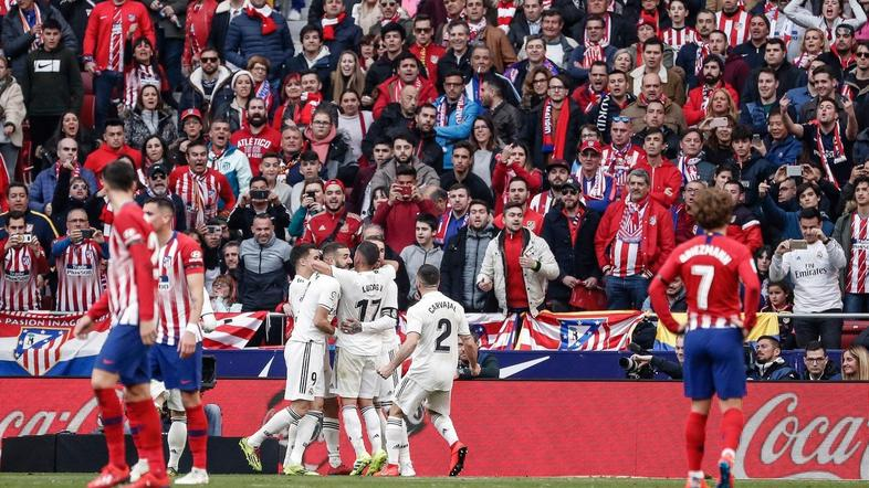 Atletico Real Madrid
