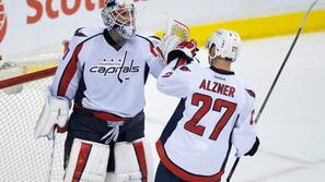 Braden Holtby in Karl Alzner, Washington Capitals