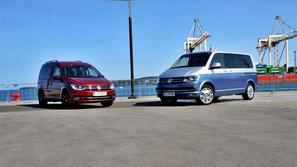 Volkswagen transporter in caddy